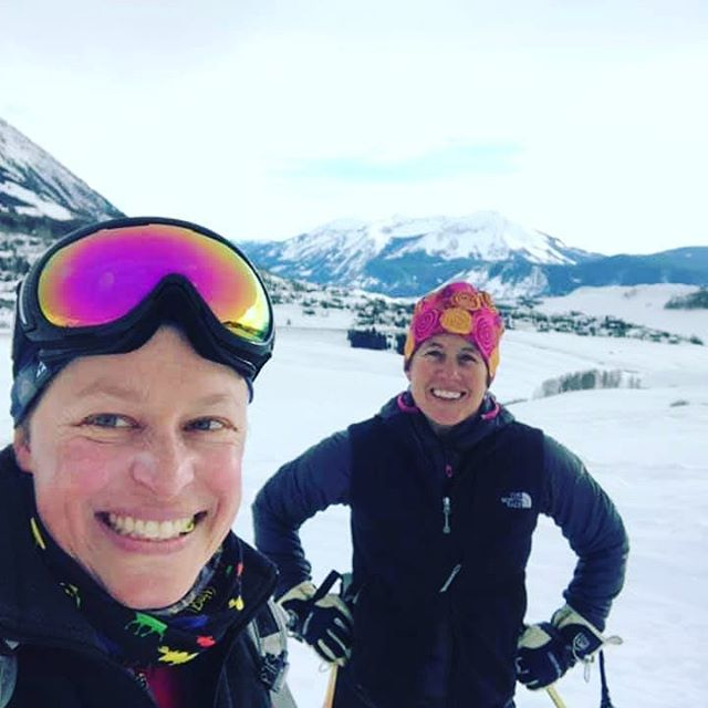 Shout out to CK athlete Pam Sponholtz who is training for the 6 day stage race Breckenridge Epic.  She spends her winters covered in snow and so we use multiple types of platforms to simulate and cross train during the base period.  Last weekend Pam jumped into a 21k skate ski race which proved to be excellent combination of aerobic and muscular endurance training.  Not only did she finish it and have a great time....but she let her friends talk her into going xc skiing for additional fun after!  Rest up Pam. ;)
