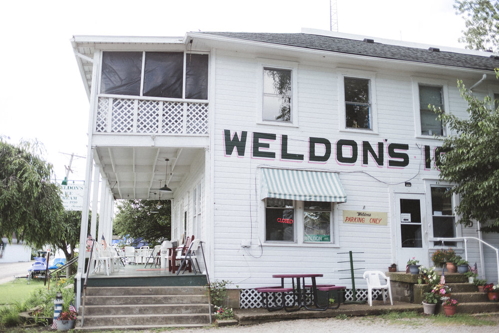 Weldon's Ice Cream - family owned and operated since 1930