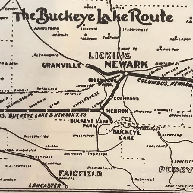 @explorebuckeyelake toured the #granvillehistoricalsociety this evening for the @granvilleoh after hours. Look what we spotted! @explore_licking_county @ohioexplored #trains #buckeyelake #transportation #history