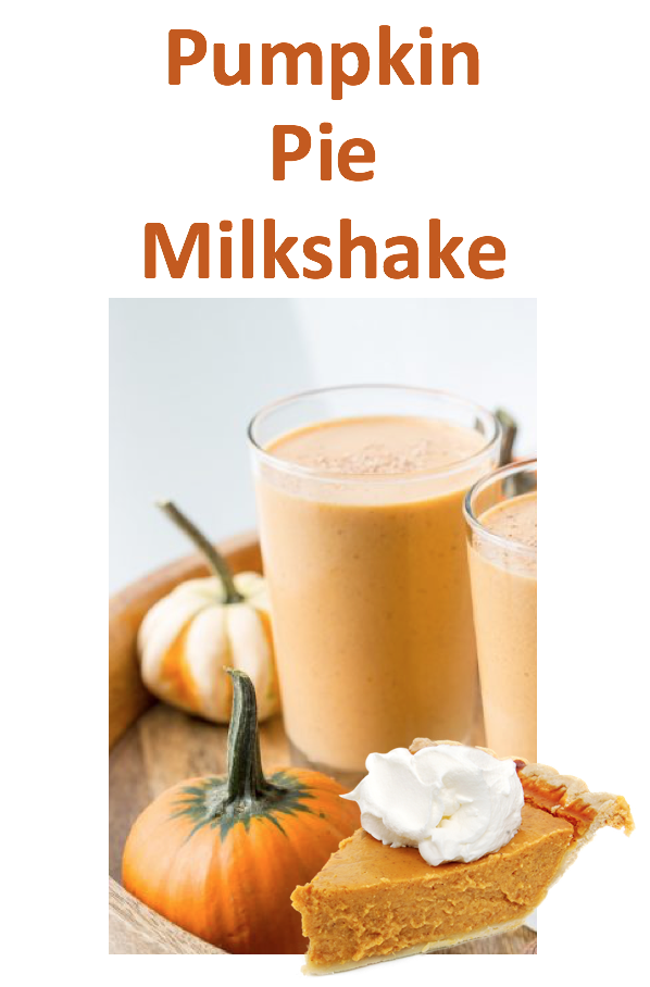 milkshake - Pumpkin Pie