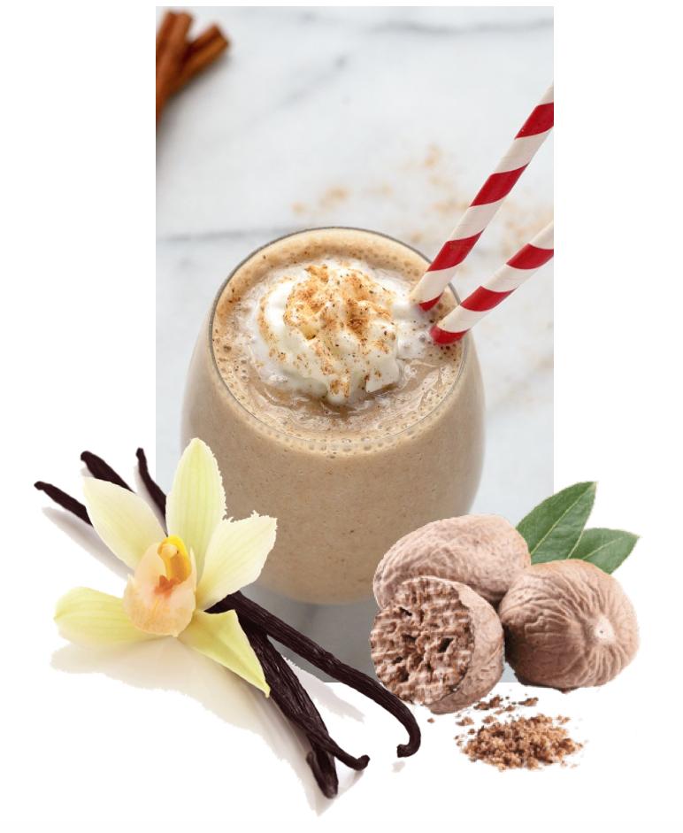 milkshake - eggnog