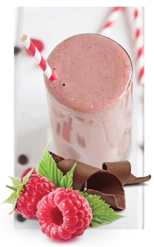 milkshake - Raspberry Chocolate Truffle