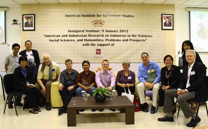Seminar Pelantikan Institut Amerika untuk Indonesian Studies 9 Januari 2012