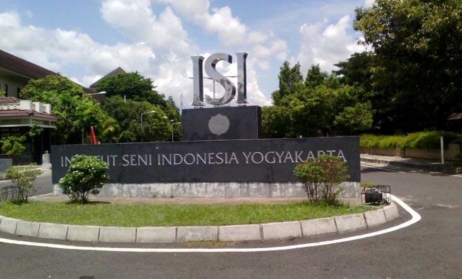 Institut Seni Indonesia (Indonesian Art Institute) in Yogyakarta, considered one of the best art academies in Indonesia