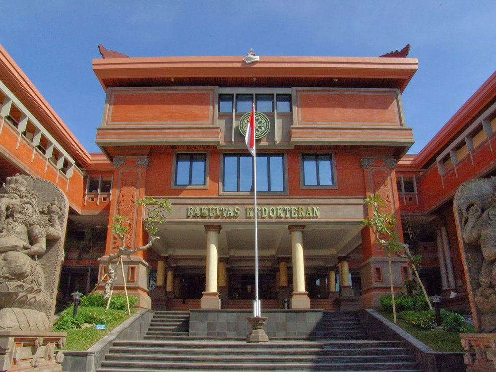 Udayana University, located in Denpasar, Bali