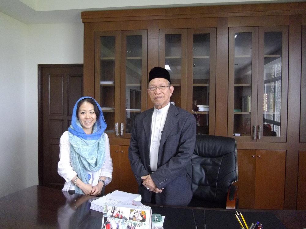 Kikue Hamayotsu - AIFIS Vice President