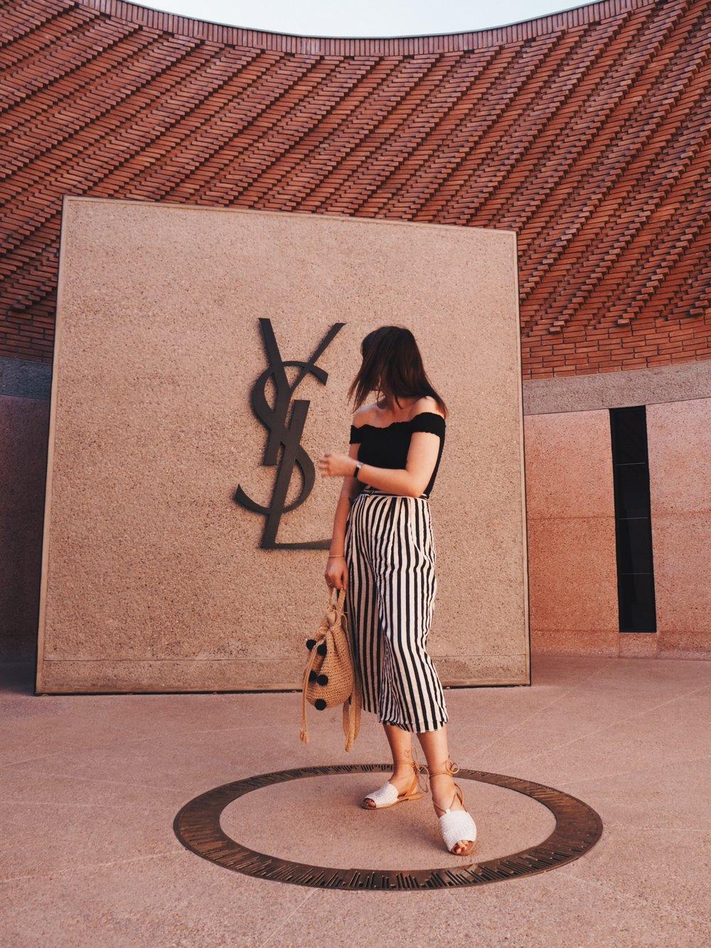 YSL Museum, Marrakesh.