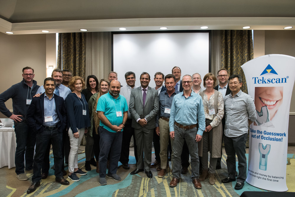 Photography from: Tekscan Lecture in Toronto, NDI Dinner Party in Vancouver  and the Pacific Dental Conference in Vancouver