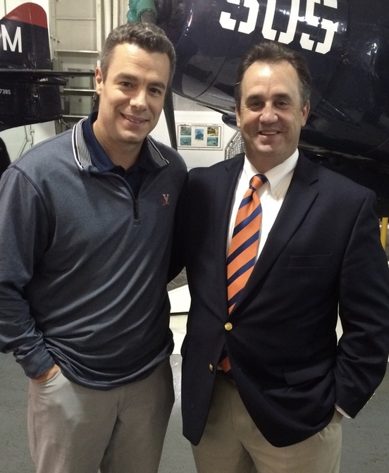 Me with my favorite active coach, Tony Bennett, UVA Head Basketball Coach and 2 Time National Coach of the Year