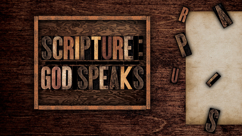 Clarus 2011 – Scripture: God Speaks