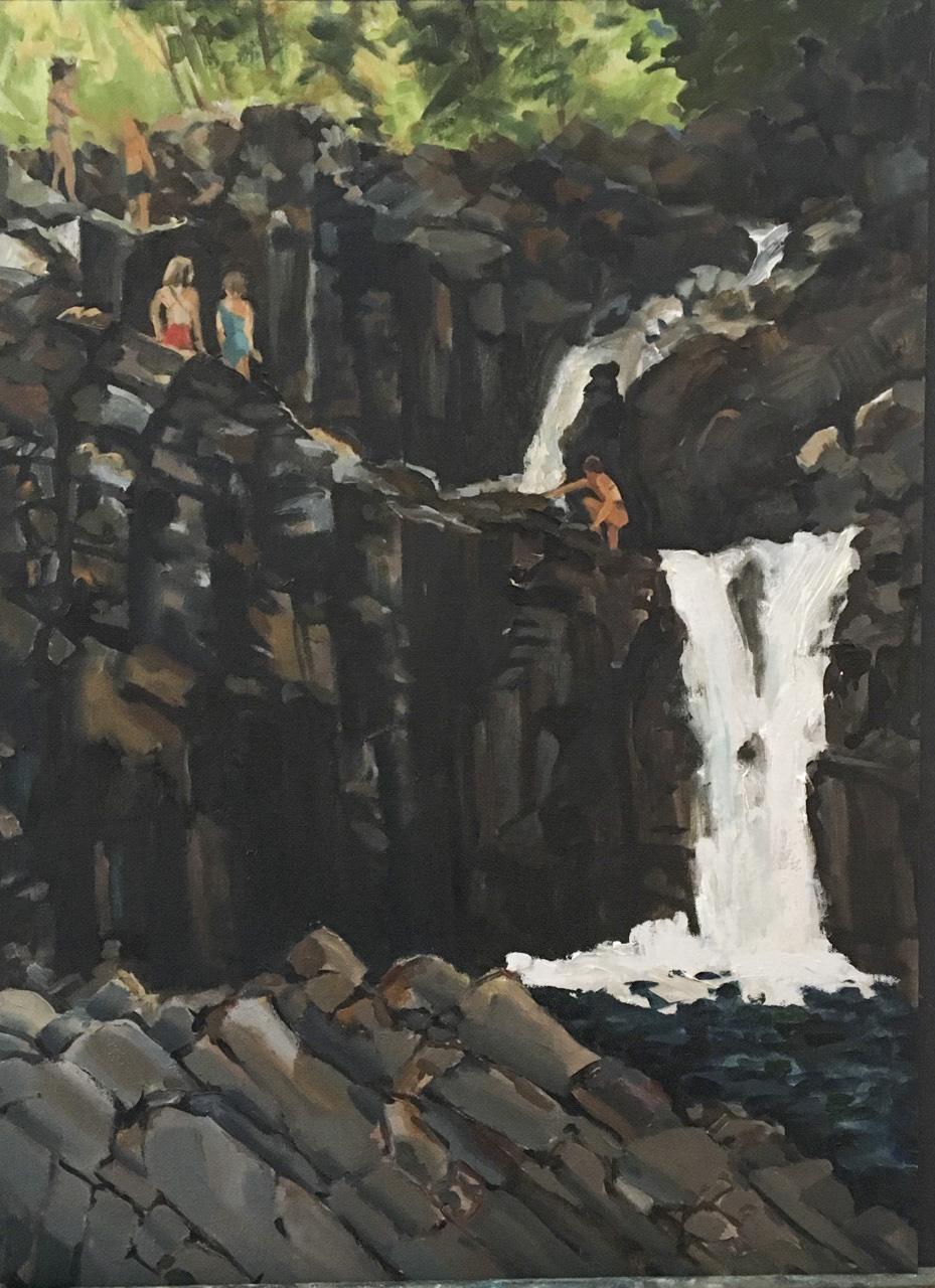 Split Rock Falls, Late Afternoon