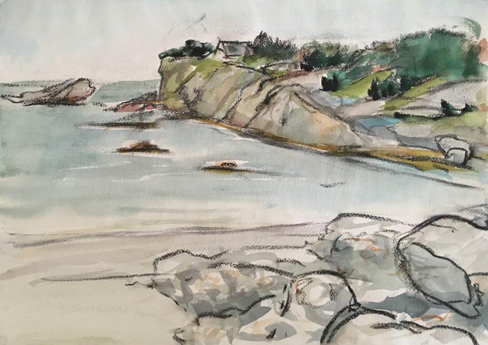Newport RI: Sachuest Cliffs