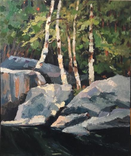 Cascade Lake Birches