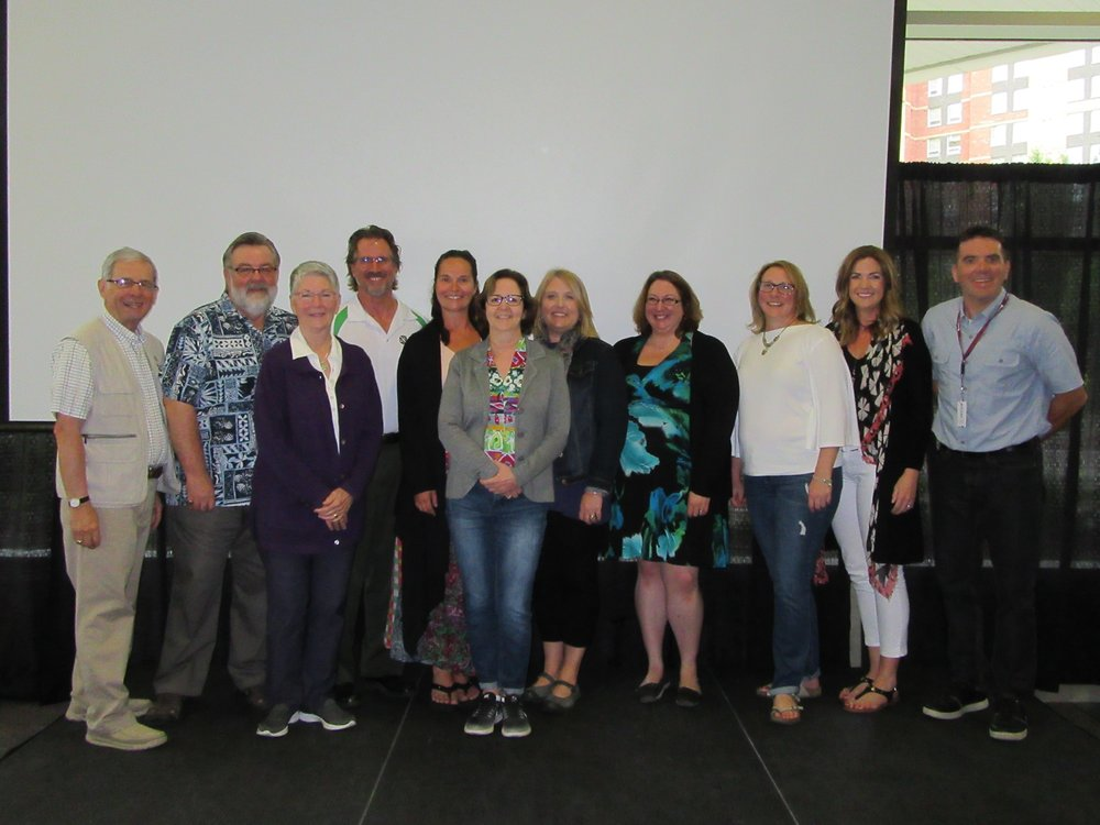Some Conference participants at the 2018 CCMTS AGM in Edmonton, AB.