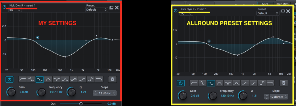 Kick Dyn R EQ settings