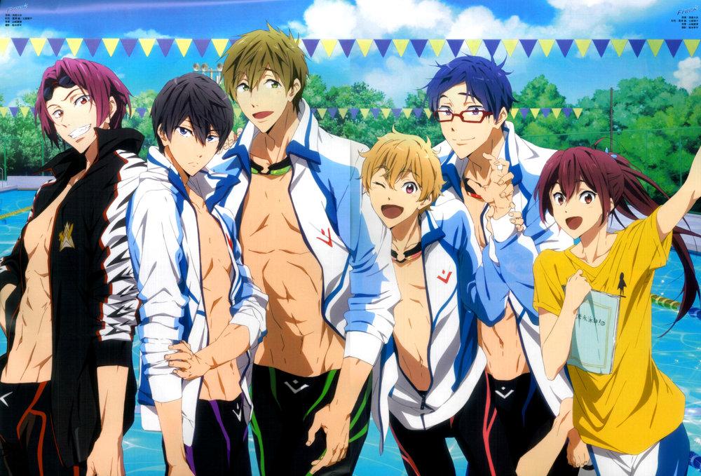 ep 10 free iwatobi swim club nerd blaze
