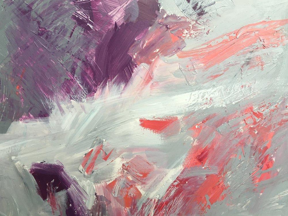 """Violet Fog #3, 11 x 14"""""""