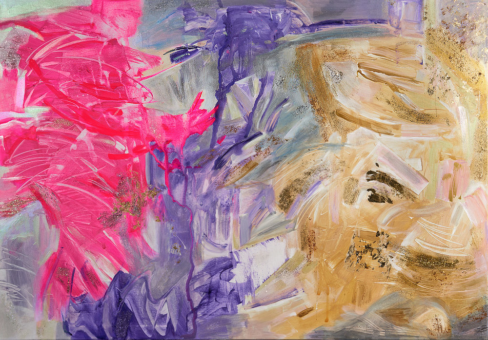 "Phoenix Rising, 40 x 60"""