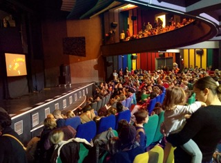 Audience in Skopje, Macedonia
