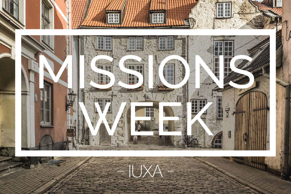 Missions Week Flyer 2016