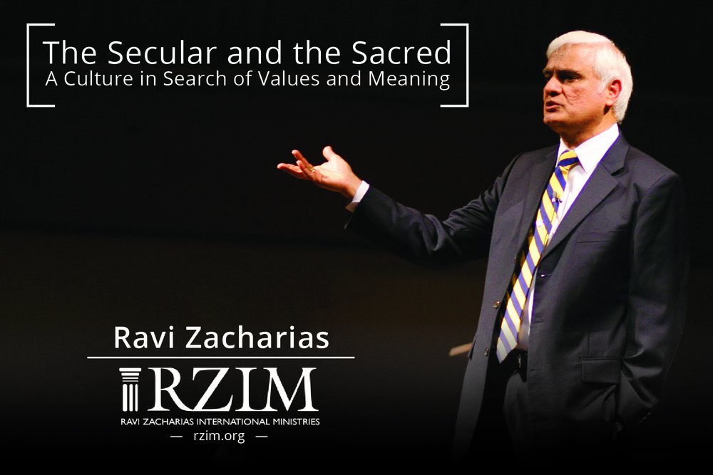 Ravi Zacharias Event Flyer 2017
