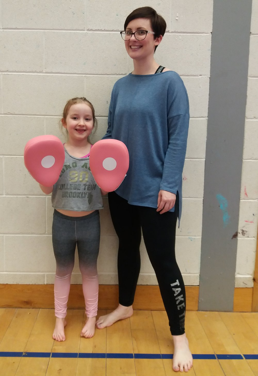 Testimonial - Mother and daughter Ruth and Gracie joined the Dundonald class in November. Here's what Ruth said: Mark & Sarah are amazing teachers! Gracie has never been able to stay at any clubs before now, she's a wee anxious soul and would never let me leave! The family class is the perfect solution for us and Gracie has gained so much confidence! She looks forward to it every week.No matter what your skill set or starting point RAPTR can be part of your Martial Arts journey!