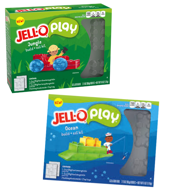 Thanks for your interest in promoting Jell-o Play Build & Eat Kits! - Please keep reading to learn how you can get started!