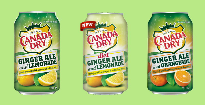 Help us promote Canada Dry! - We're glad you're here!