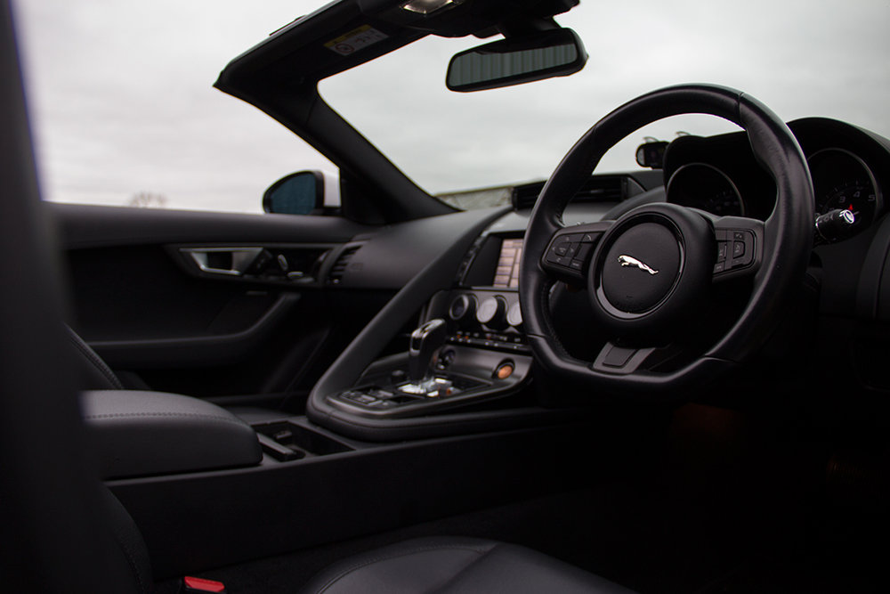 The oft-slated interior looks good even if it doesn't feel competitive to it's rivals.