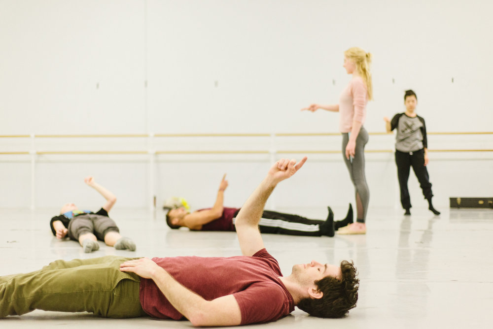 Pennsylvania Ballet Rehearsal - Philadelphia, Pennsylvania