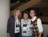 Me with Maureen Lang and Siri Mitchell