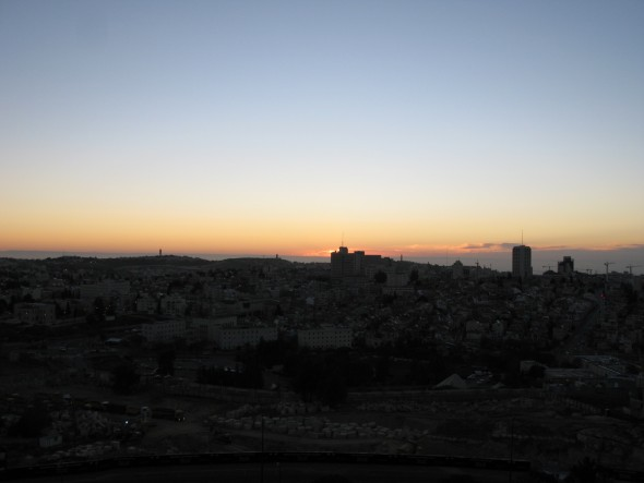 Sunrise over Jerusalem 16