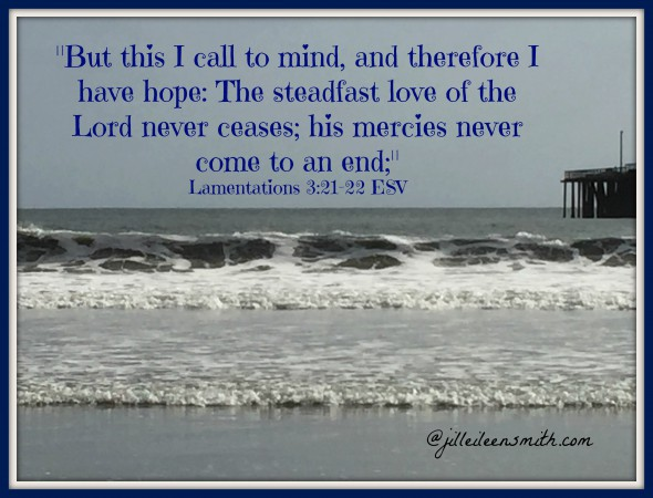 Lamentations verse and pic