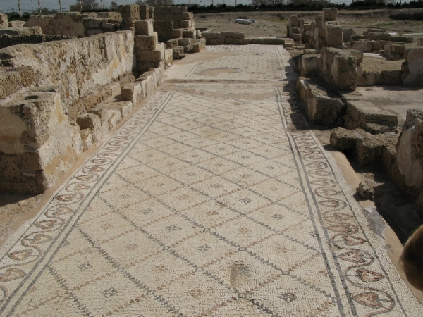 More mosaic tile at Hippodrome