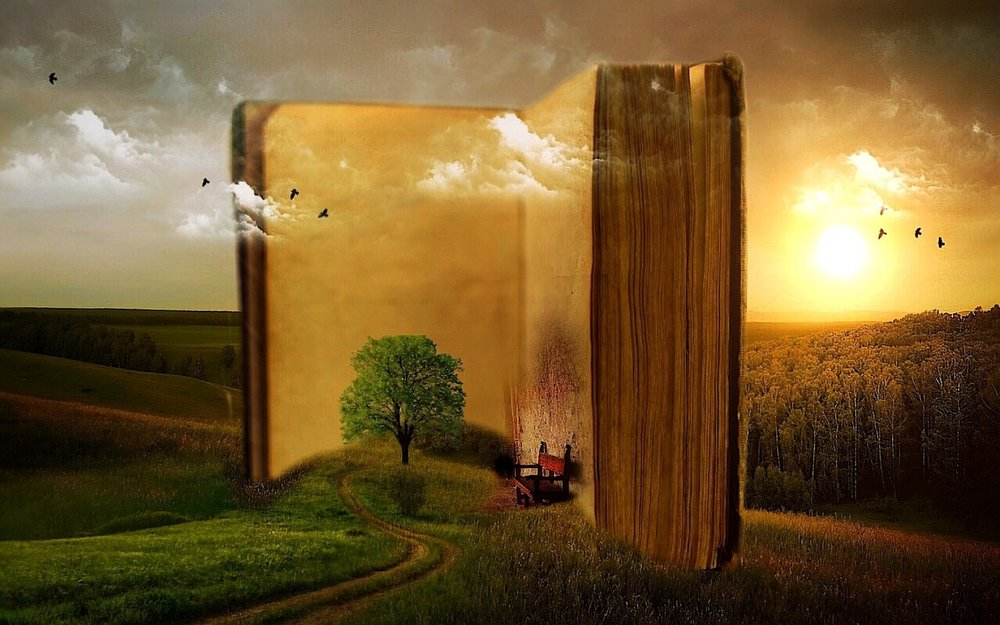 Books can take you to places your feet will never travel. Step into imagination!
