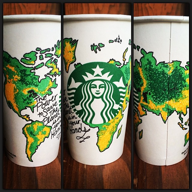Starbucks White Cup Contest Storybox