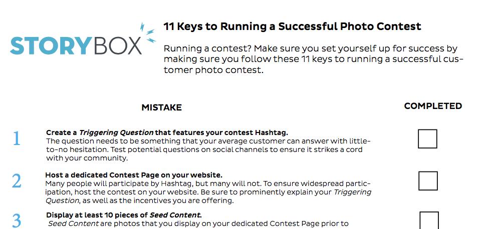 Contest_checklist