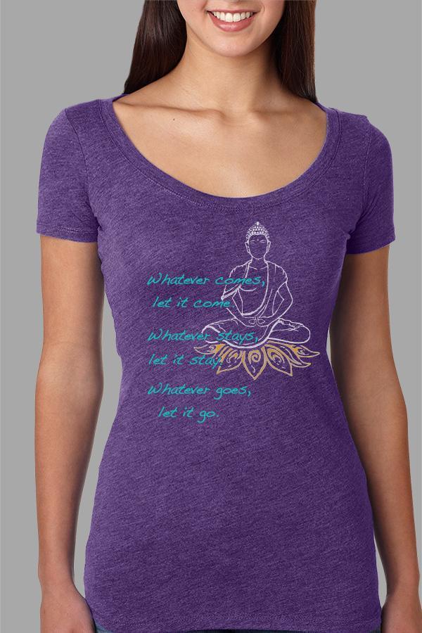 Let It Be by Kizmet Yogawear.