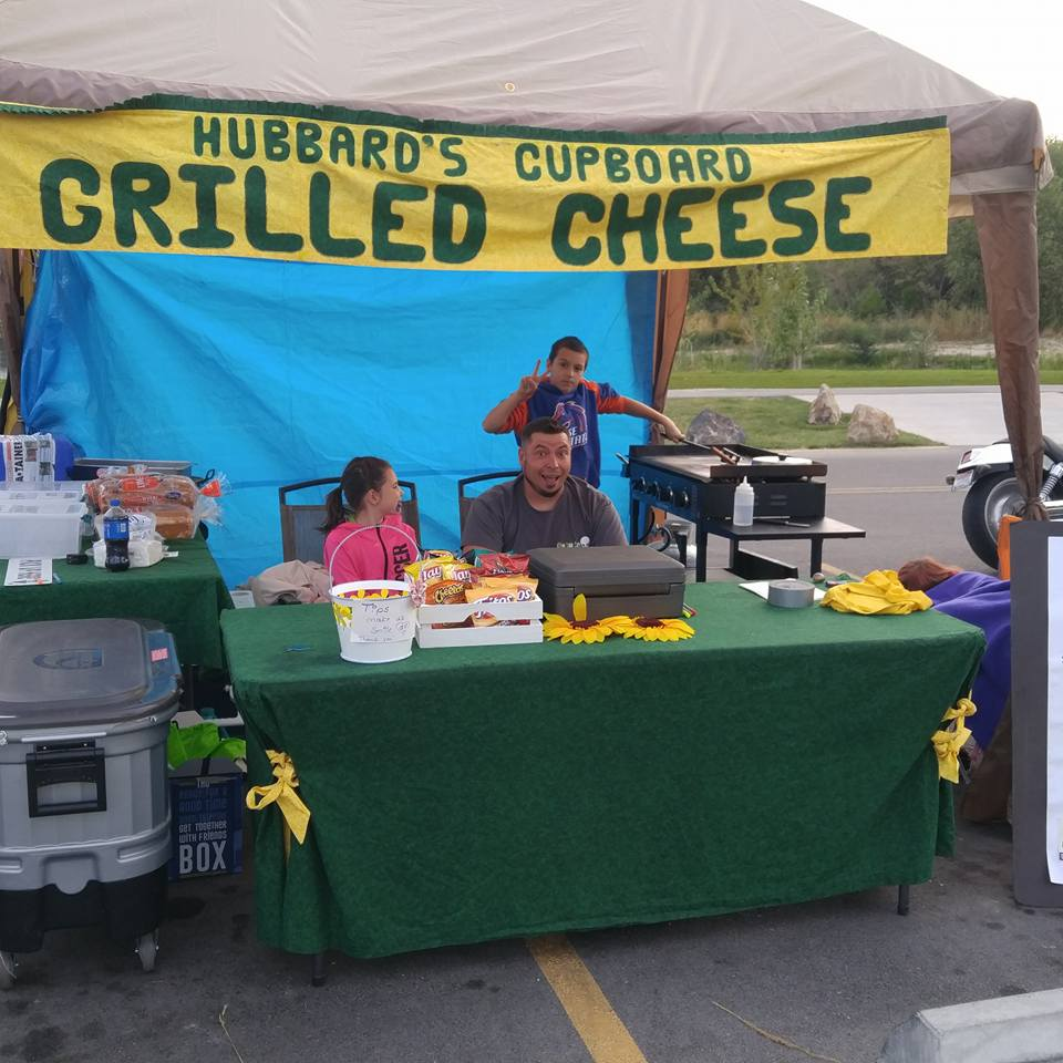 Hubbard's Cupboard Grilled Cheese
