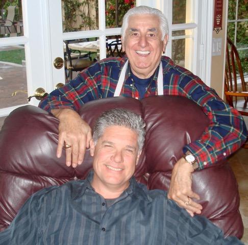 Dad & Randy at home