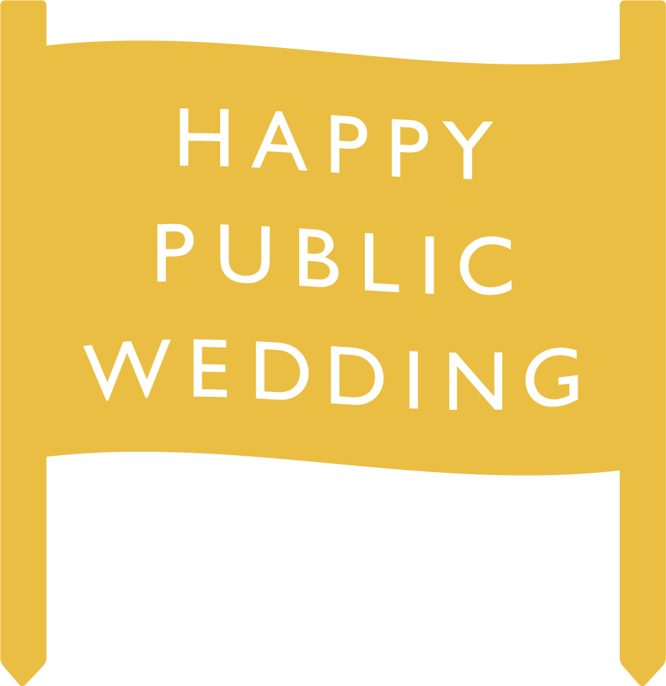 Happy Public Wedding