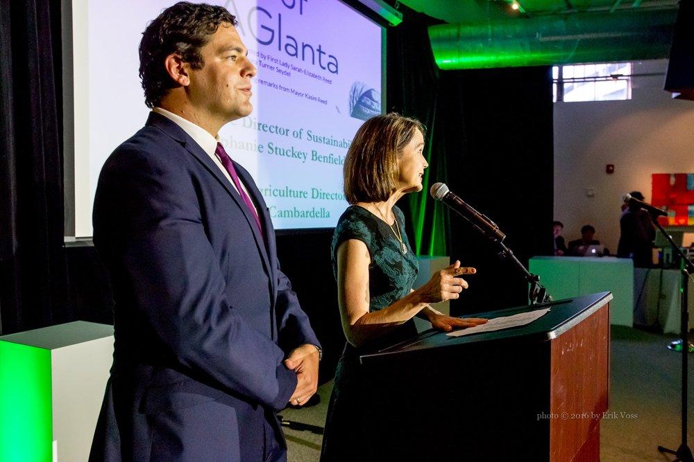 Atlanta's Urban Agriculture Director, Mario Cambardella, will participate in the 2018 Aglanta Conference