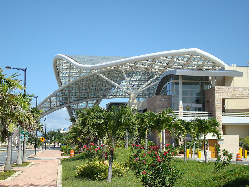 Puerto Rico Convention Center -  master planned by Sasaki Associates
