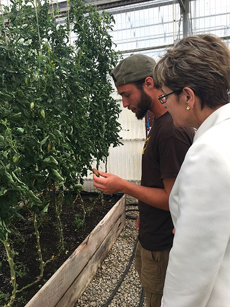 Congresswoman Kaptur visits NatureFresh Farms