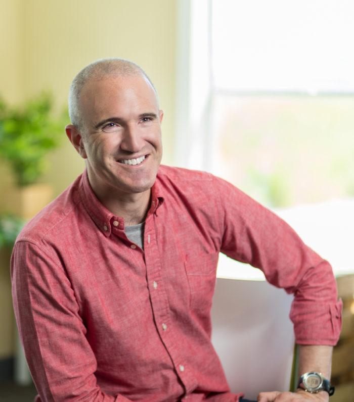 Plenty CEO Matt Barnard. (Photo courtesy of Plenty.)