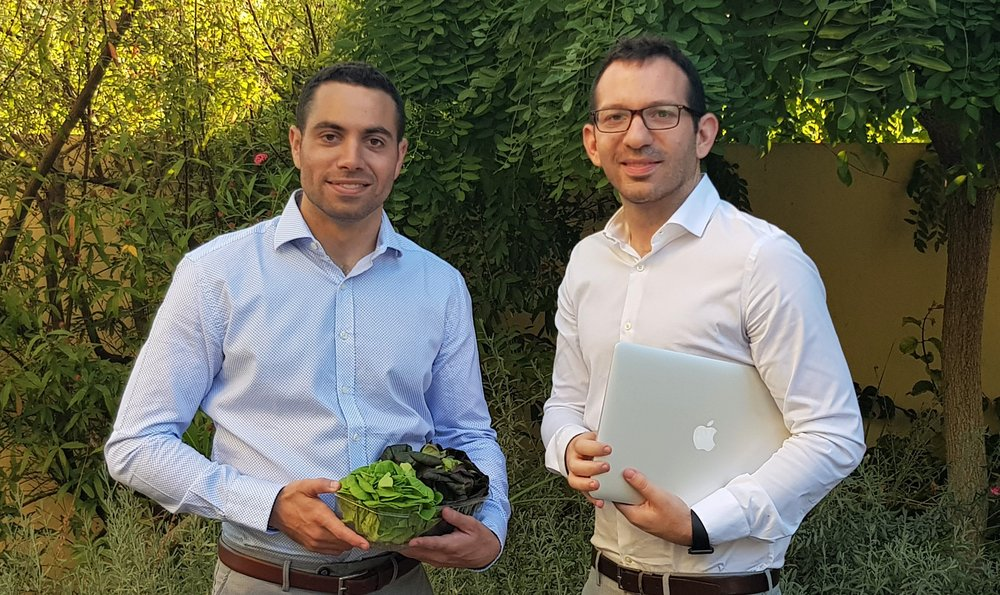 Yevul Academy founders Stéphane Razzon (left) and Tamir Levy (right).