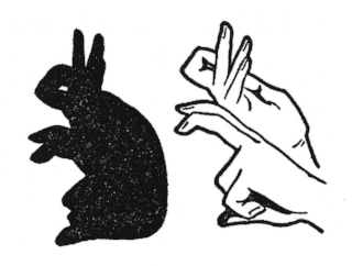 How to Make a Bunny Shadow Hand Puppet