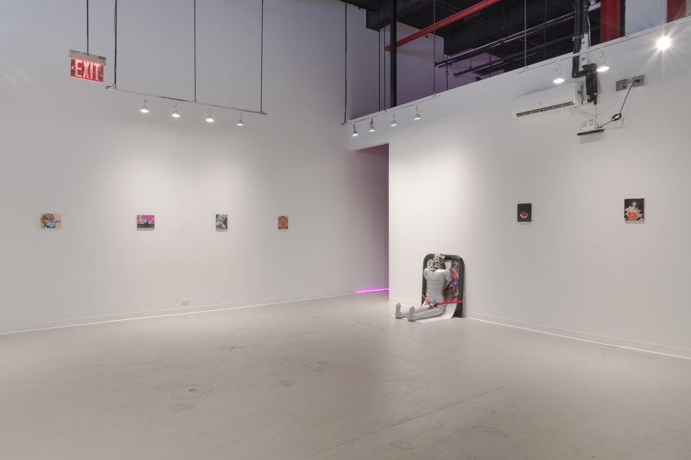 Lara Nasser,  Half Ass , 2018,photo: Adam Reich