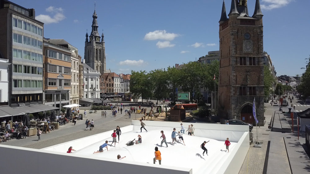 Bed , 2018, commissioned for PLAY Kortrijk - A Citywide Parcours for Contemporary Art, Kortrijk, Belgium