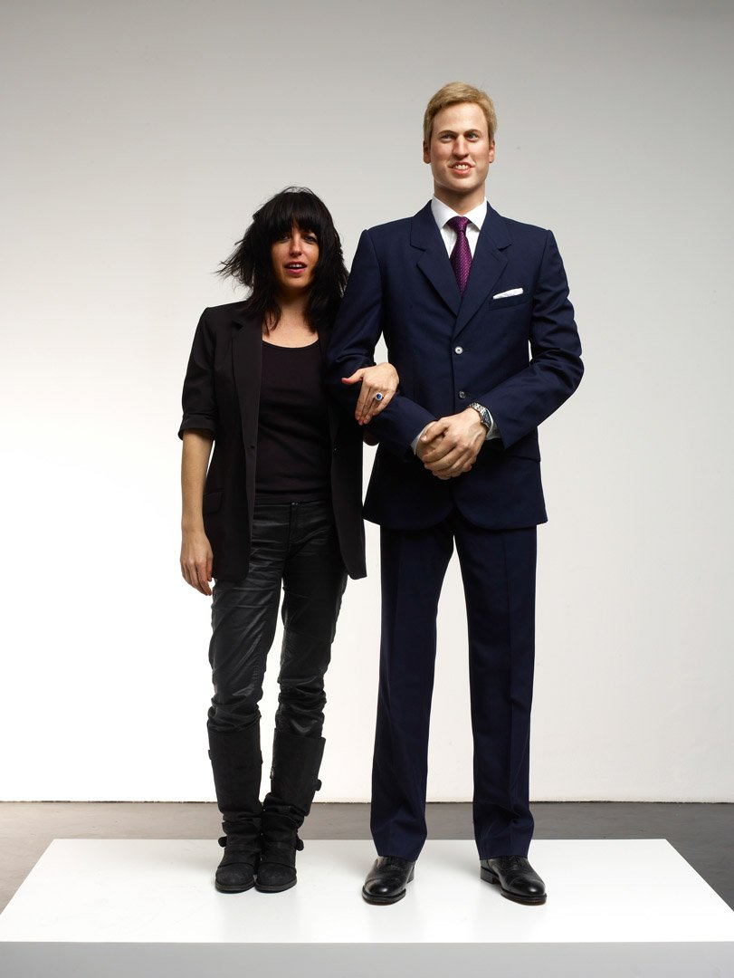 Engagement  (with Prince William sculpted by Daniel Druet), 2011, wax and resin mannequin, wool suit leather shoes and watch